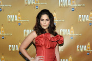 Hillary Scott of Lady Antebellum attends the 44th Annual CMA Awards at the Bridgestone Arena on November 10, 2010 in Nashville, Tennessee.
