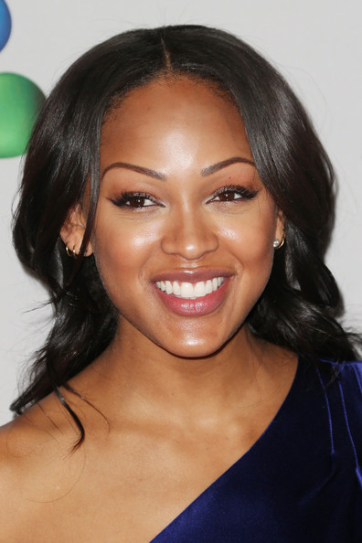 More Pics of Meagan Good Long Curls (1 of 15) - Meagan Good Lookbook - StyleBistro