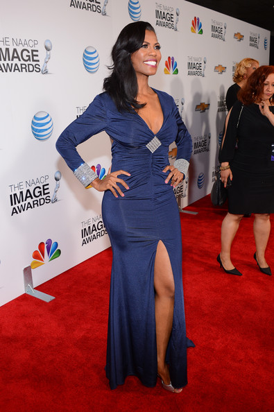 More Pics of Omarosa Manigault Long Straight Cut (8 of 13) - Omarosa Manigault Lookbook - StyleBistro