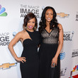 Elise Neal and Tami Roman at the 44th Annual NAACP Image Awards 2013