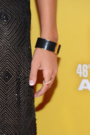 Jana Kramer accessorized her shimmering style at the 46th Annual CMA Awards with this elegant crystal bangle.