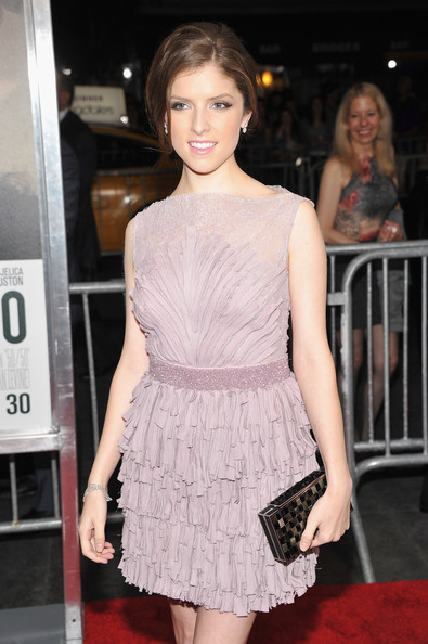 More Pics of Anna Kendrick Dangling Diamond Earrings (1 of 7) - Anna Kendrick Lookbook - StyleBistro
