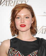 Holliday Grainger kept it youthful with this short wavy 'do at the Karlovy Vary International Film Festival 50th anniversary celebration.