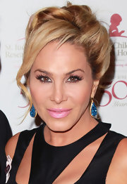 Adrienne Maloof topped off her look with a glam retro updo at the St. Jude Children's Research Hospital anniversary celebration.