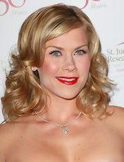 Alison Sweeney wore a pair of long feathery lashes at the 50th anniversary celebration for St. Jude Children's Research Hospital.