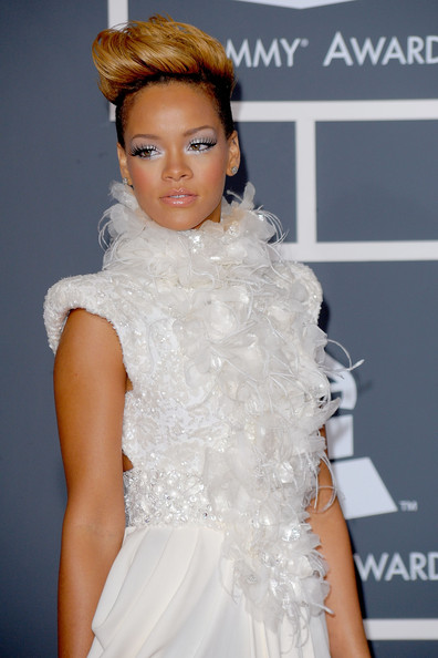 Rihanna in 52nd Annual GRAMMY Awards - Arrivals
