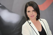 Lana Parrilla kept it simple and classic with a bob at the Monte Carlo TV Festival.