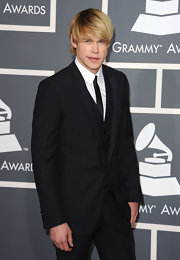 Chord was decked out in a dapper 3-piece suit at the Grammy Awards.