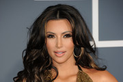 TV personality Kim Kardashian arrives at The 53rd Annual GRAMMY Awards held at Staples Center on February 13, 2011 in Los Angeles, California.
