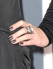Can you say bling?  Check out the rock on Skylar Grey's ring finger.