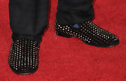 Lil Wayne rocked a pair of spiked loafers for the 2011 Grammys.