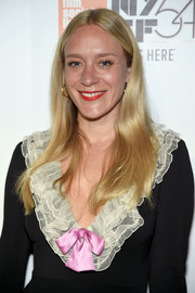 Chloe Sevigny sported a hippie-chic center-parted 'do at the New York Film Festival opening night party.