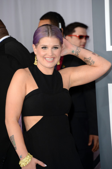 More Pics of Kelly Osbourne Ponytail (1 of 16) - Hair Lookbook - StyleBistro