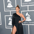 Jennifer Lopez Wore Anthony Vaccarello at the Grammy Awards 2013