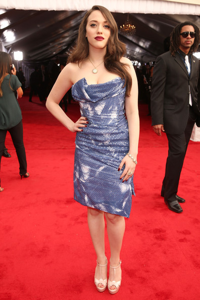 More Pics of Kat Dennings Peep Toe Pumps (1 of 5) - Kat Dennings Lookbook - StyleBistro