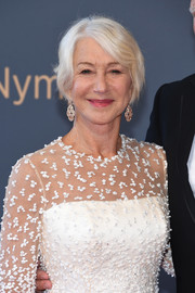 Helen Mirren kept it simple with this short cut with side-swept bangs at the Monte Carlo TV Festival closing ceremony.