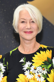 Helen Mirren attended the Monte Carlo TV Festival wearing her usual platinum-blonde bob.