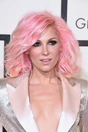 Bonnie McKee rocked a cotton-candy-inspired 'do at the Grammys.