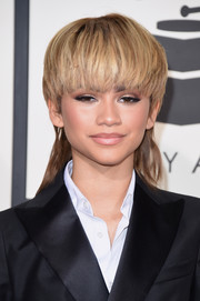 Zendaya Coleman showed just how fearless she is with her style choices when she wore this mullet to the Grammys.