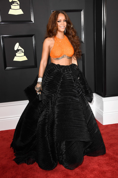 Armani Prive Separates at the 2017 Grammys