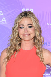 Denise Richards sported a long curly 'do at the 2019 Monte Carlo TV Festival.