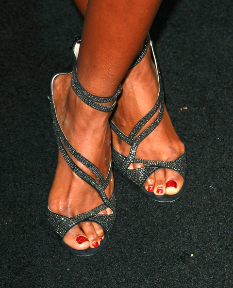 More Pics of Kelly Rowland Evening Sandals (1 of 5) - Evening Sandals Lookbook - StyleBistro
