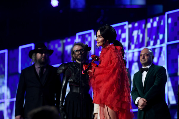 More Pics of Kacey Musgraves Evening Dress (3 of 88) - Kacey Musgraves Lookbook - StyleBistro [performance,event,stage,fashion,performing arts,fashion design,heater,kacey musgraves,grammy awards,staples center,los angeles,california,annual grammy awards]