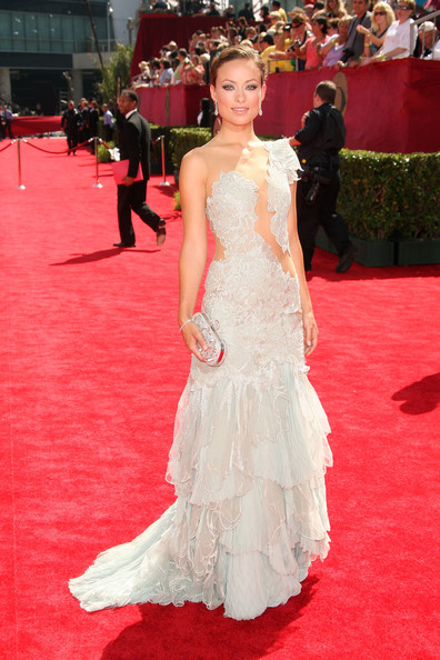 Olivia Wilde in Marchesa, 2009