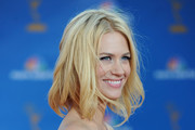 Actress January Jones arrives at the 62nd Annual Primetime Emmy Awards held at the Nokia Theatre L.A. Live on August 29, 2010 in Los Angeles, California.