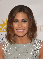 Gabriela Isler swept her hair up into a wavy faux bob for the Miss Universe Pageant.