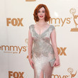 Christina Hendricks 2011 Emmy Awards