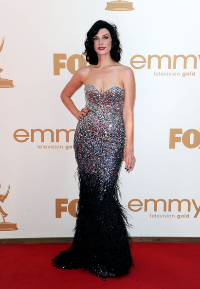 More Pics of Jessica Pare Evening Dress (1 of 6) - Jessica Pare Lookbook - StyleBistro