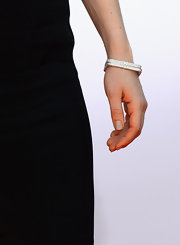This square bangle was just the right touch of sparkle for Zosia Mamet at the Emmy awards.
