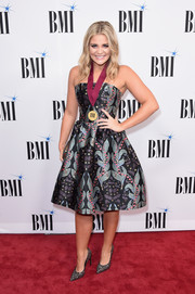 Lauren Alaina donned a strapless fit-and-flare dress by Ingie Paris for the BMI Country Awards.