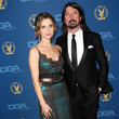 Jordyn Blum & Dave Grohl at the 2013 Directors Guild of America Awards