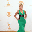 Nancy O'Dell in Carmen Marc Valvo
