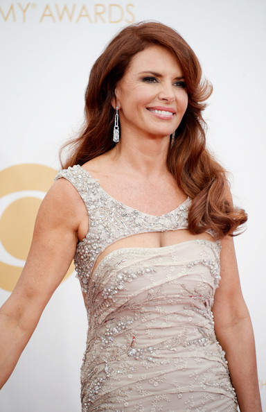 More Pics of Roma Downey Long Curls (1 of 13) - Roma Downey Lookbook - StyleBistro