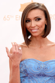 Giuliana rocked a sleek angled bob on the red carpet of the 2013 Emmy Awards.