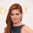 Debra Messing's Side Sweep