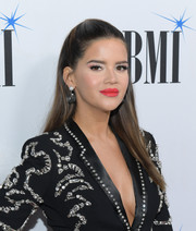 Maren Morris looked simply stylish with her straight, half-up hairstyle at the 2019 BMI Country Awards.