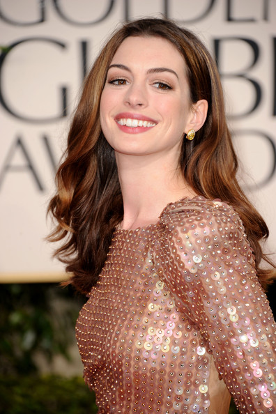 Anne+Hathaway in 68th Annual Golden Globe Awards - Arrivals