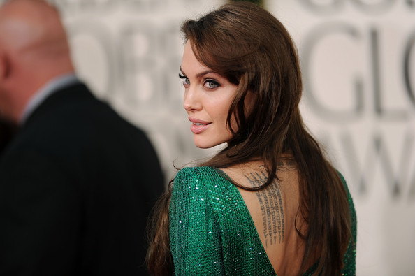 Angelina+Jolie in 68th Annual Golden Globe Awards - Arrivals
