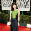 Zooey Deschanel, 2012 Golden Globes
