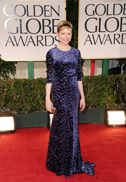 Michelle Williams, 2012 Golden Globes