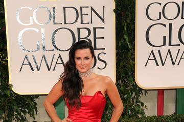 Kyle Richards' Golden Globes Pictures