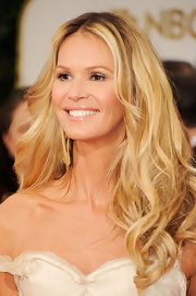 Ella MacPherson wore her hair in long flowing curls at the 69th Annual Golden Globe Awards.