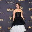 Mandy Moore in Carolina Herrera Resort