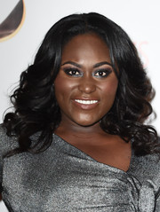 Danielle Brooks was glamorously coiffed with this curly 'do at the Writers Guild Awards.
