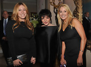 Liza Minnelli attended the 6th Annual Stella by Starlight gala wearing an beautiful satin off-shoulder top.