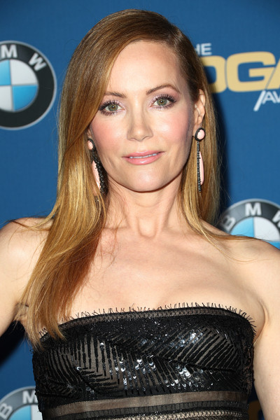 Leslie Mann opted for a neat straight hairstyle when she attended the 2018 Directors Guild of America Awards.